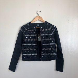 NWT Nu Denmark Embellished Jacket